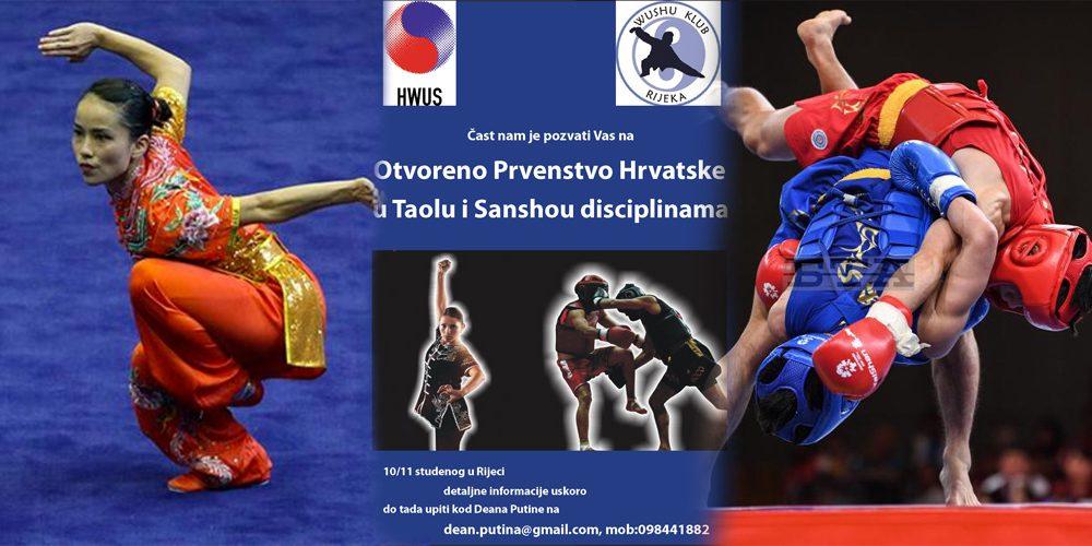 Otvoreno Prvenstvo Hrvatske u Taolu i Sanshou disciplinama