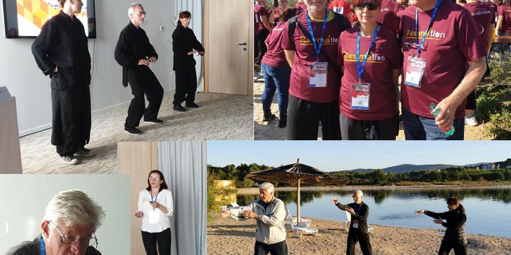 Tai chi chuan i Qigong na Reumatološkom kongresu – Šibenik 2019.