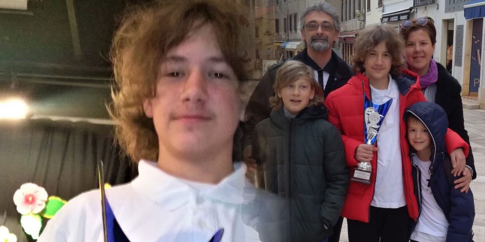 Ian Petrović-Miglior atleta dell'Unione Italiana
