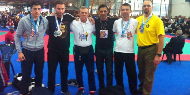 Hrvatski Wushu tim na WTKA Svjetskom prvenstvu, 31. listopad – 3. studeni 2013. / Massa Carrara – Italija