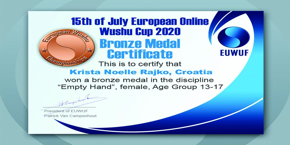 EUROPEAN  WUSHU  CUP  2020.